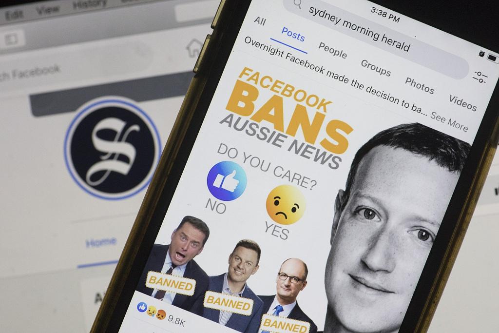 澳总理与四国通话盼共同应对谷歌脸书 印度反应平平