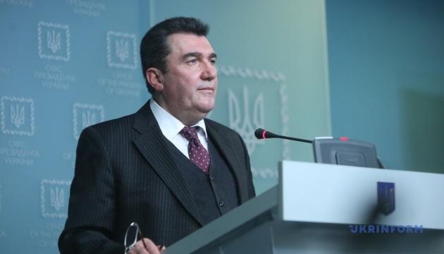 △乌克兰国家安全与国防委员会秘书丹尼洛夫,图片来自乌克兰媒体