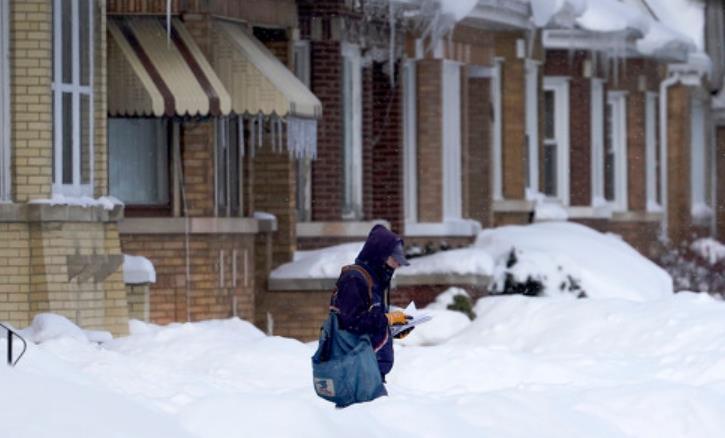 美媒:美国严寒天气造成的死亡人数升至47人