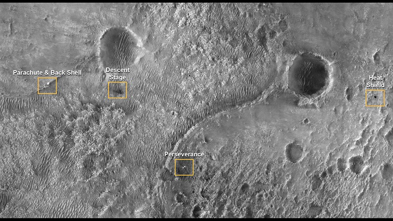 毅力号登陆火星真实视频公开,我们还听到了火星的风声!