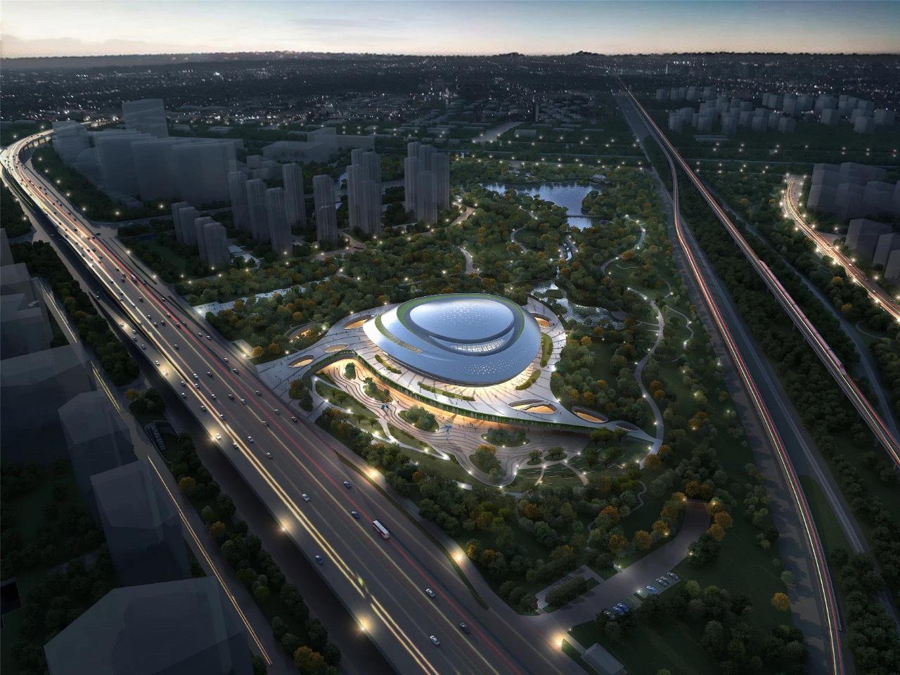 杭州2022年亚运会电竞场馆公布 造型像消食片