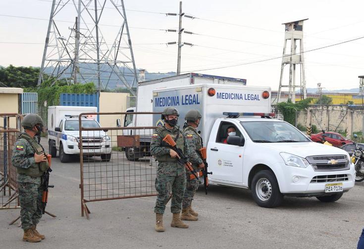 厄瓜多尔多所监狱发生骚乱 至少50名服刑人员死亡