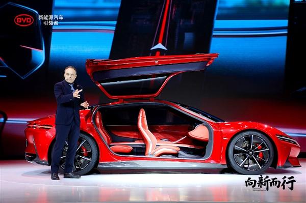 2.9s破百!传比亚迪将打造超级轿跑R2