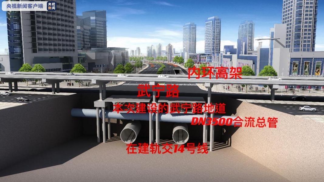 上海武宁路快速化改建工程即将围场施工 相关道路有调整