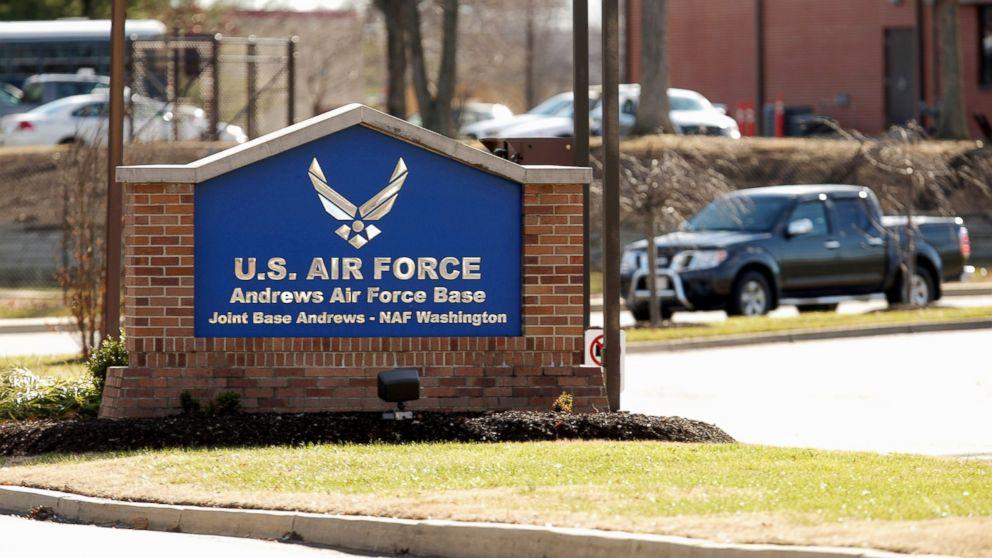 美国总统专机所在基地遭闯入 美空军展开调查