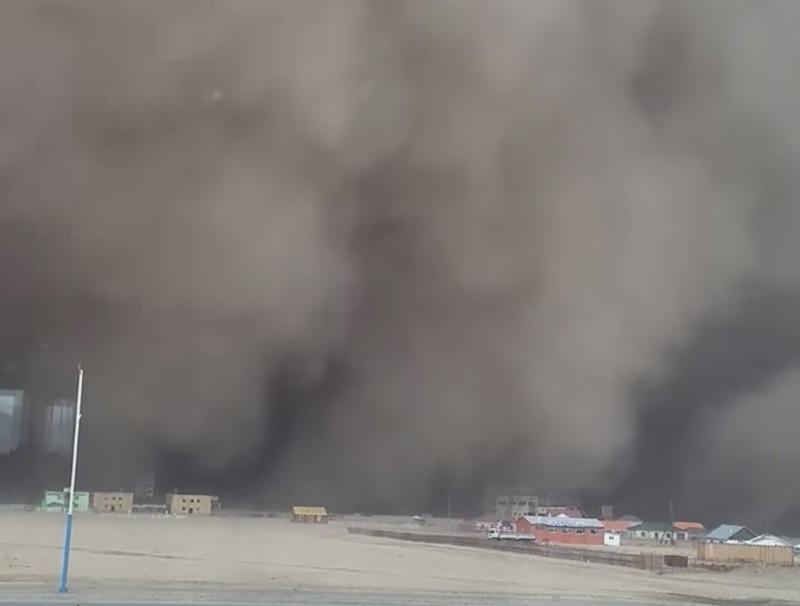 蒙古国特大沙尘暴遇难人数升至9人 仍有12人失踪
