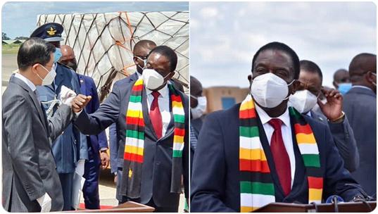 再一次!津巴布韦总统发推感谢中国援助新冠疫苗