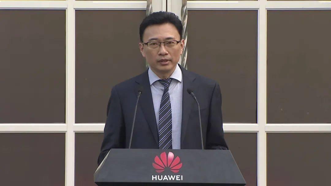 华为知识产权部部长丁建新 视频截图