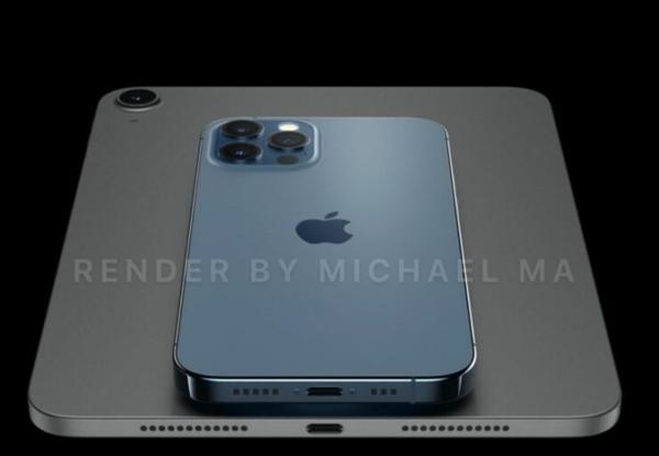 苹果 iPad mini 6 渲染图曝光:全新大屏工业设计
