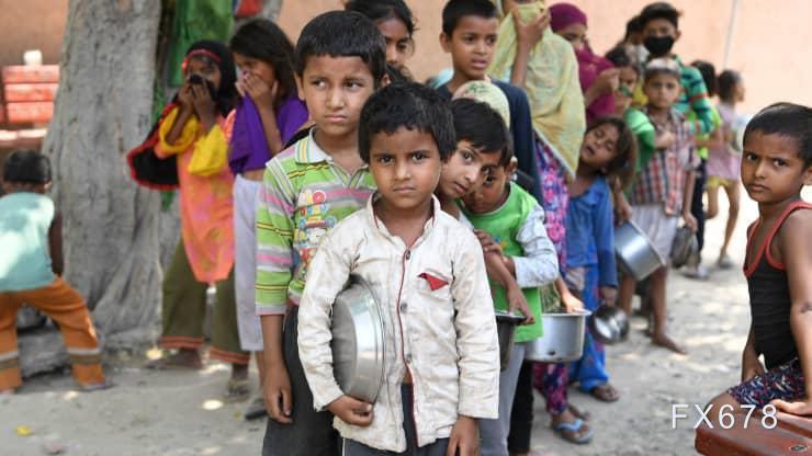 印度局势近失控后,7500万人陷入贫困 进口依旧依赖中国