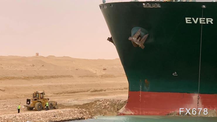 堵住苏伊士运河的巨轮脱浅 全球重要贸易动脉通行希望升温!