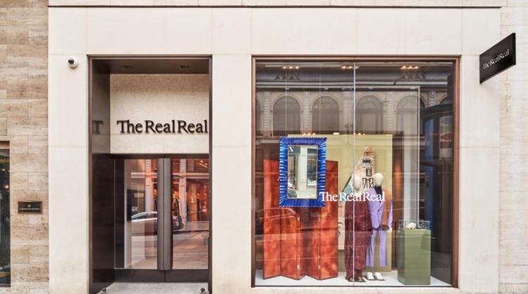 图TheRealReal在旧金山的实体店