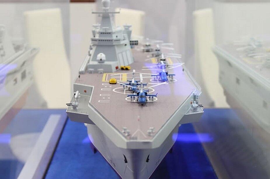 俄媒:俄新型国产直升机航母将能搭载20架舰载机