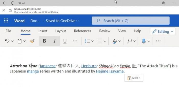 """微软改进Windows Clipboard:支持Emoji等 引入""""粘贴为纯文本""""选项的照片 - 3"""