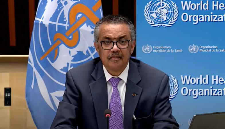 谭德塞:一些国家未能及时响应世卫组织发出的警报