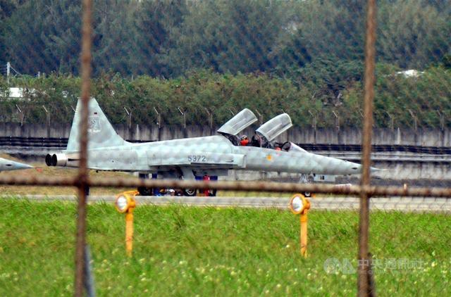 台空军F-5E战机(台媒图)