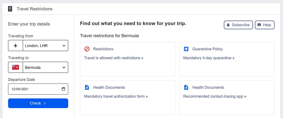 Expedia推出COVID-19旅行限制咨询工具