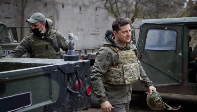 乌克兰总统:乌克兰已准备好应对俄罗斯的入侵