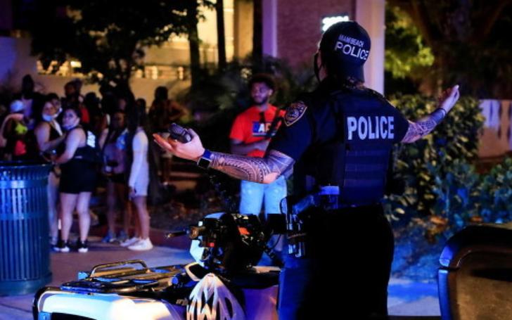 美国警方接到派对噪音投诉 到场得知上司也在后秒怂