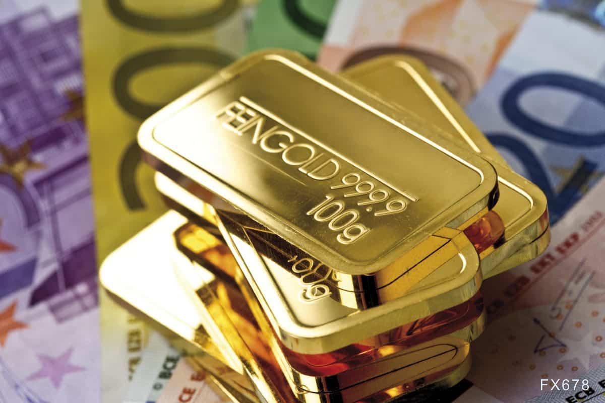 黄金交易提醒:美债收益率坚挺金价退守1730 美国CPI来袭