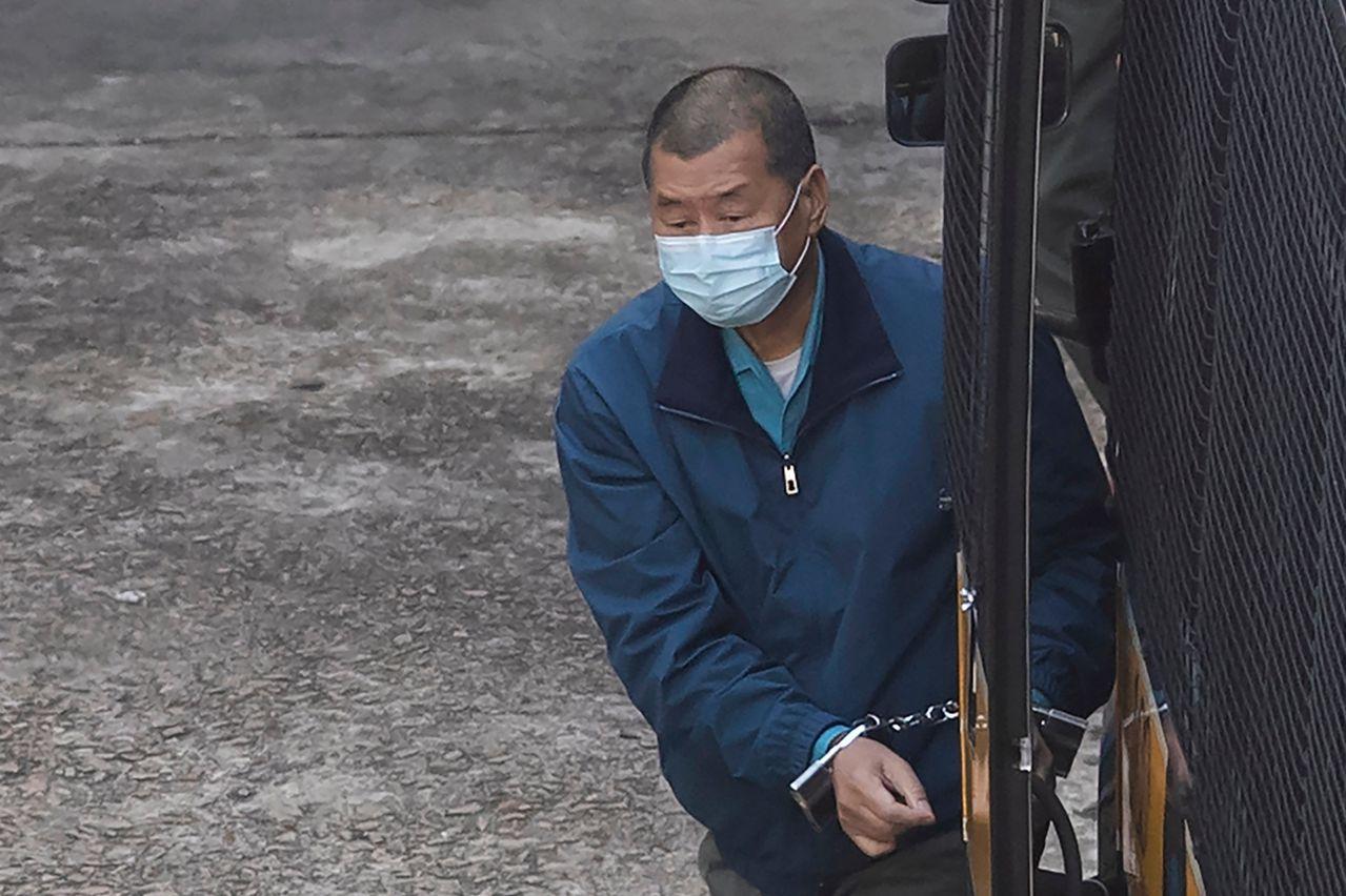 乱港分子黎智英涉两件非法集结案 共计判囚14个月