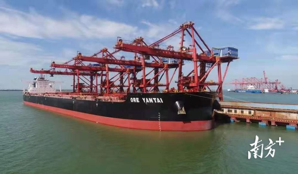 湛江港40万吨铁矿石泊位获批