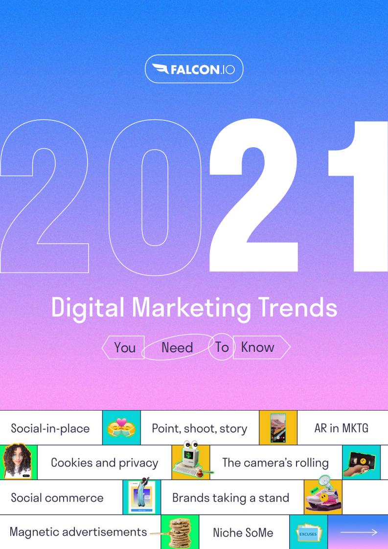 Falcon:2021年数字营销趋势报告