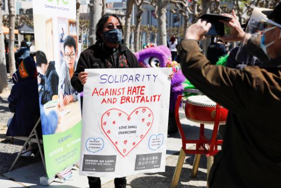 旧金山发起反仇亚、种族歧视活动 市长发声