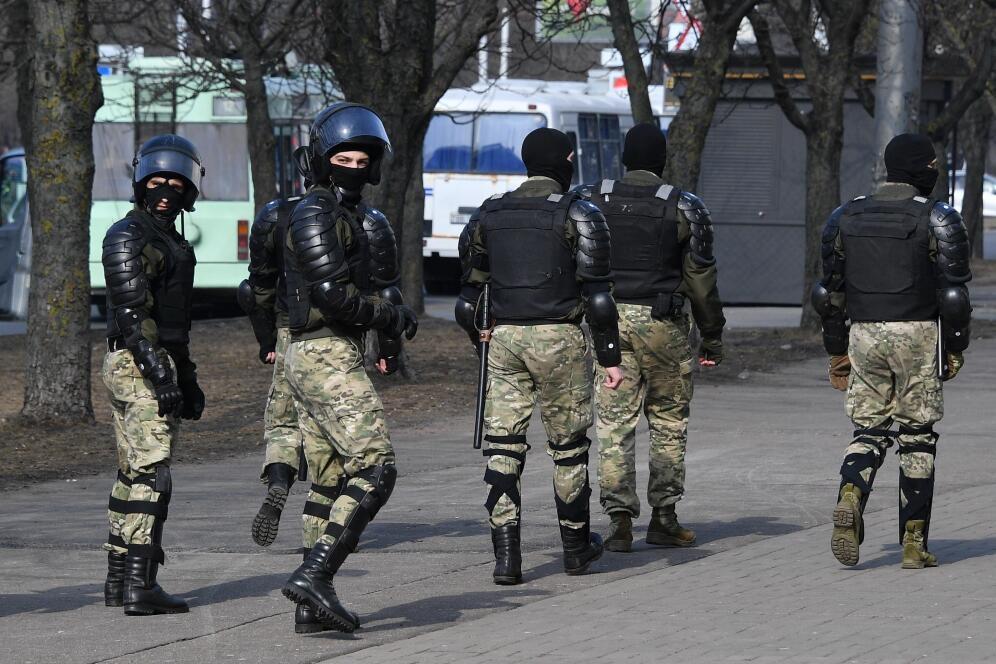 俄聯邦安全局稱逮捕兩名意圖在白俄羅斯實施政變的嫌犯