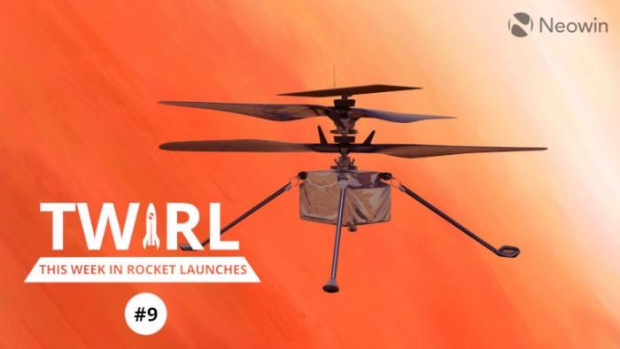 SpaceX Crew-2任务本周派宇航员前往国际空间站,美国宇航局测试火星直升机