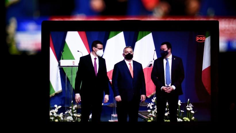 """匈牙利、波兰总理及意大利联盟党首脑呼吁""""欧洲复兴"""""""
