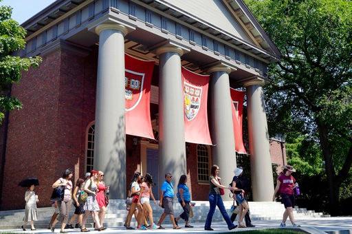 哈佛大学资料图