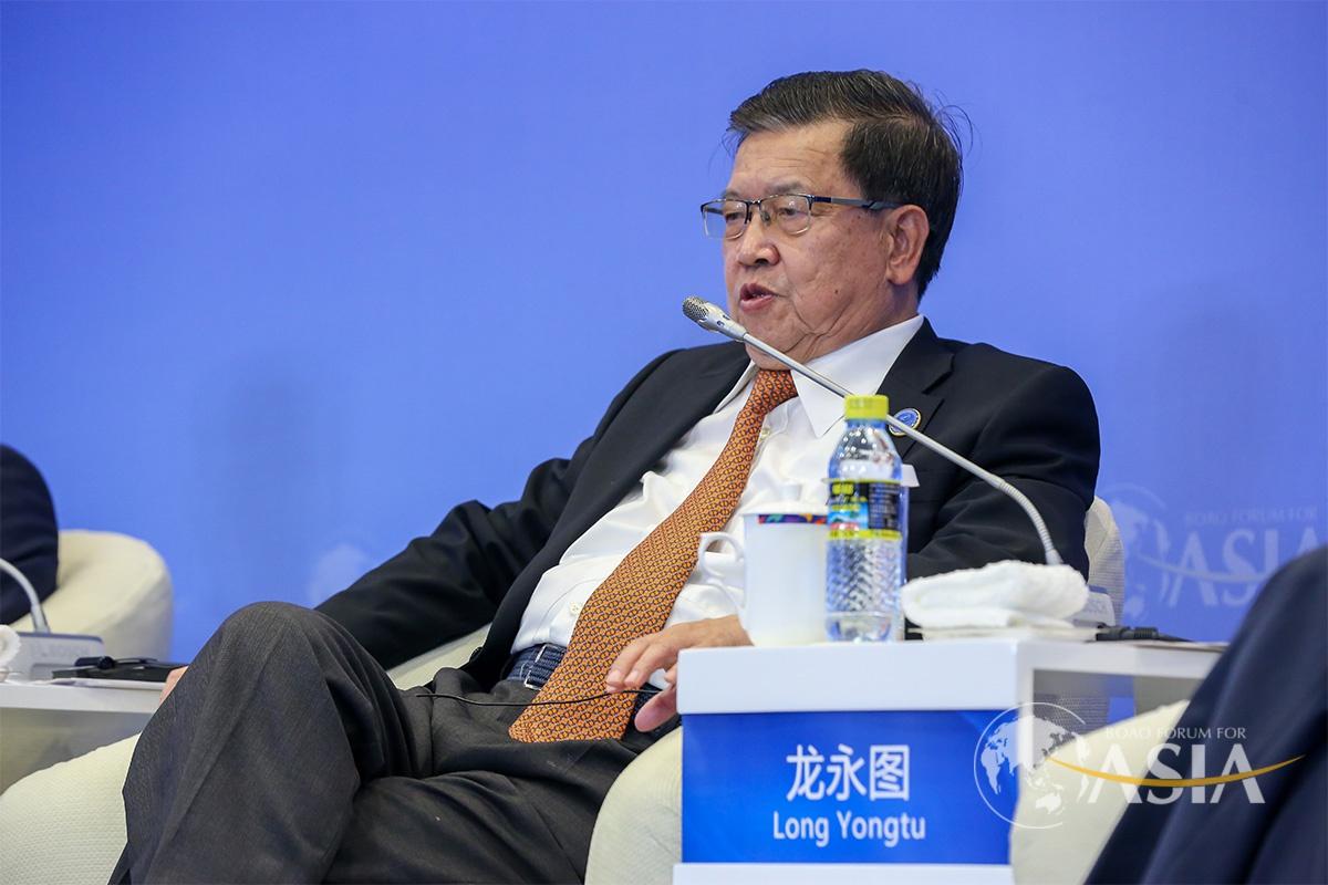 原外经贸部副部长龙永图 图源博鳌亚洲论坛