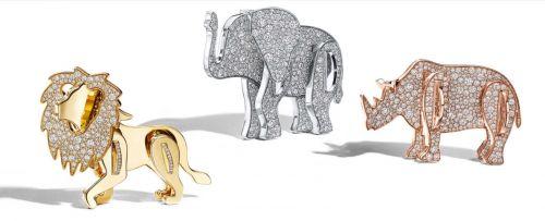 """快讯   蒂芙尼捐赠"""" Save the Wild""""系列1000万美元销售利润,以保护大象、狮子和犀牛"""