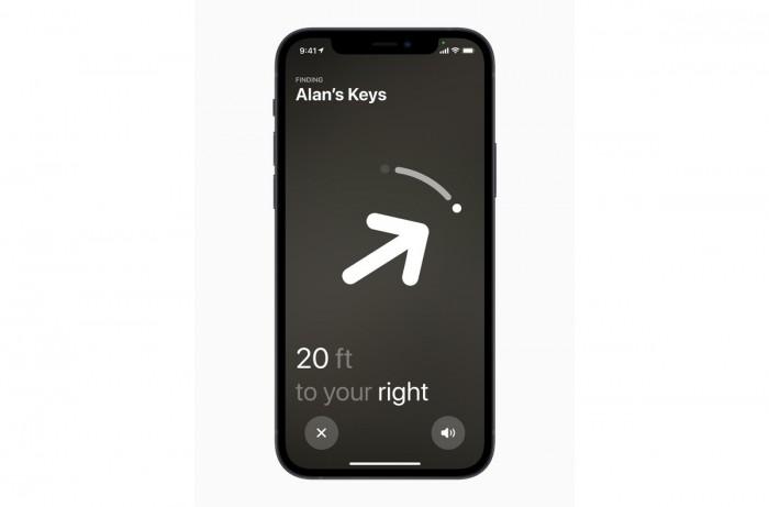 苹果AirTag的精确查找功能并非在每个国家都适用