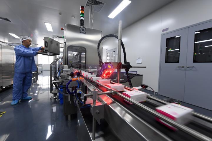 康希诺生物新冠疫苗三期生产基地产品在天津下线_手机新浪网