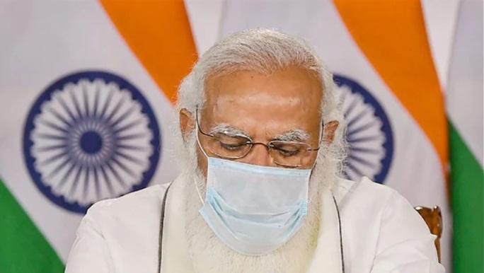 △图为印度总理莫迪图片来源:印度报业托拉斯