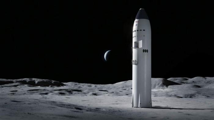 NASA月球登陆器竞标失败者对SpaceX赢得29亿美元合同提出抗议