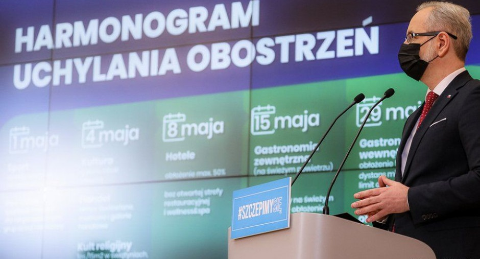 △波兰卫生部部长涅杰尔斯基(图片来源:波兰总理府)