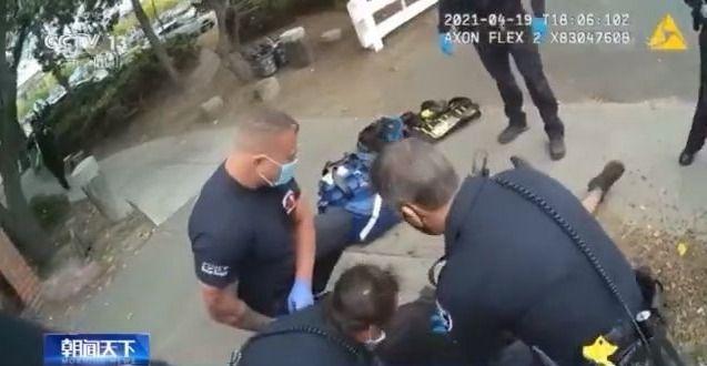 又见弗洛伊德?美国一男子遭警察跪压超5分钟后死亡