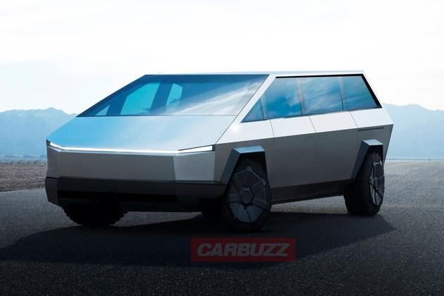 特斯拉全新MPV渲染图曝光 造型汽车史上绝无仅有