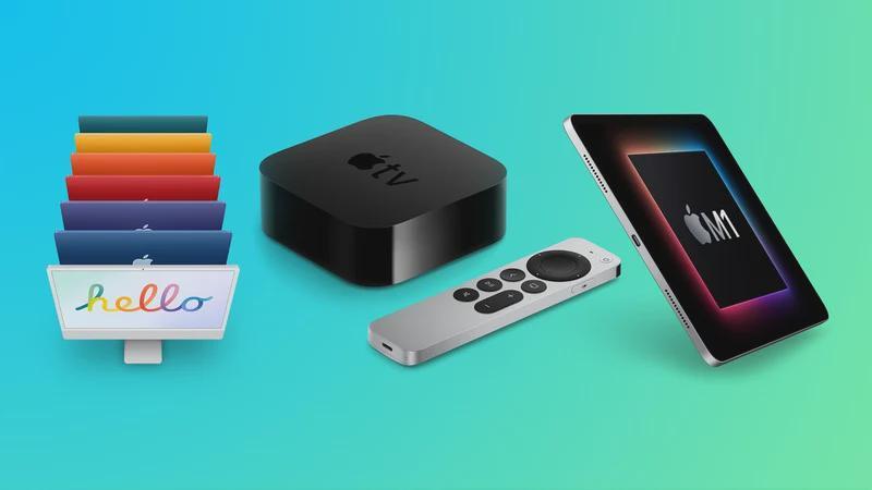 新款24英寸iMac、M1 iPad Pro和新款Apple TV 4K明天开始预售 设计 ipad pro ...