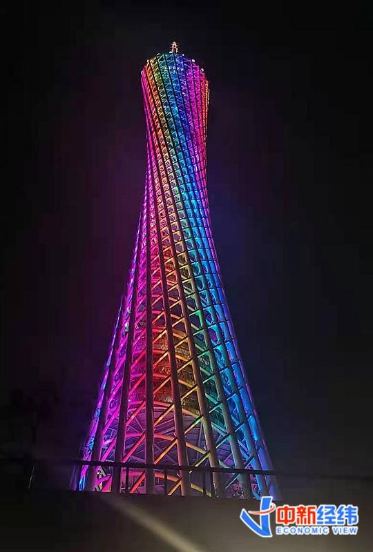 资料图:广州塔。 中新经纬 万可义 摄