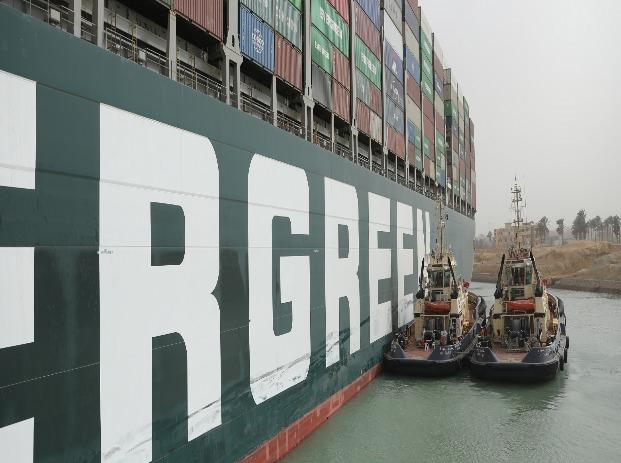图片来源:苏伊士运河管理局