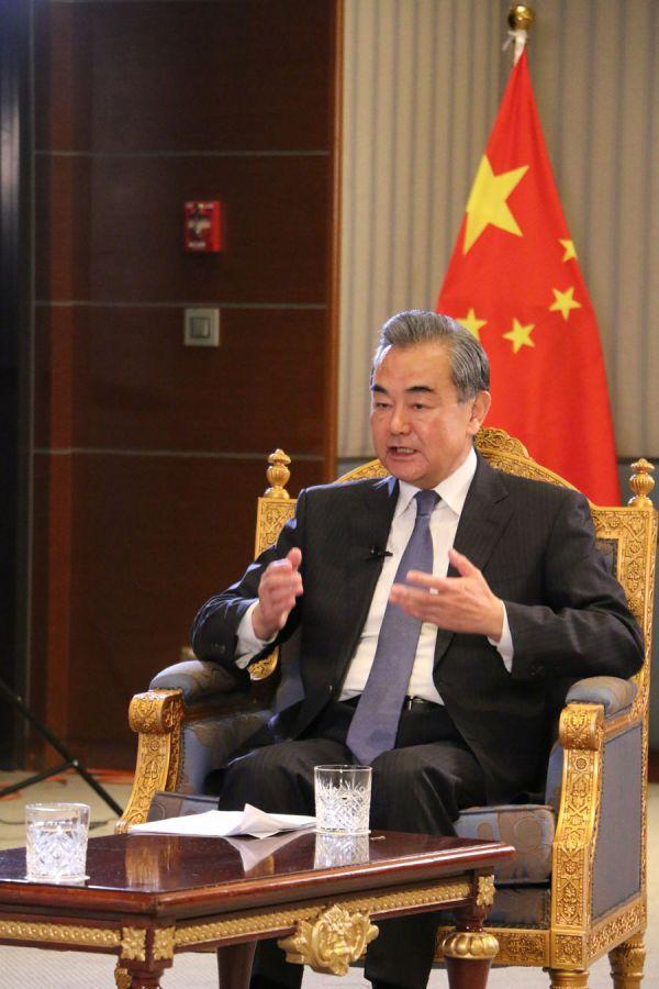 资料图片:王毅(外交部网站)