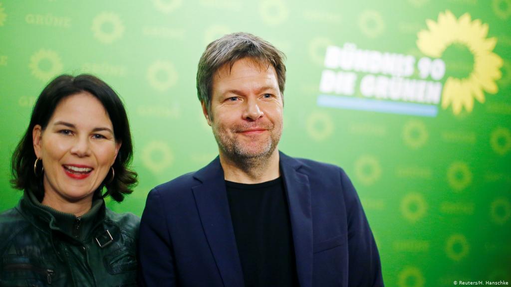 德国绿党将于近期确立总理选举候选人