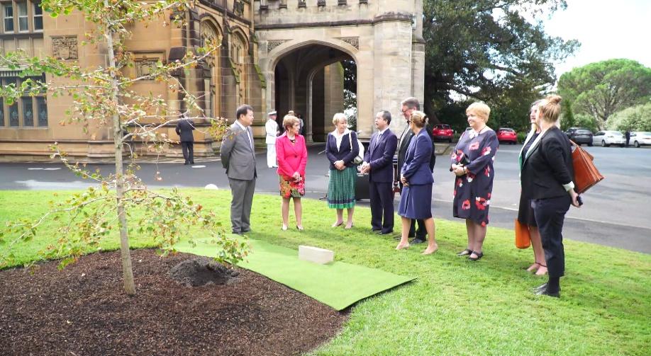 澳大利亚新南威尔士州与广东省缔结友好省40周年植树仪式举行