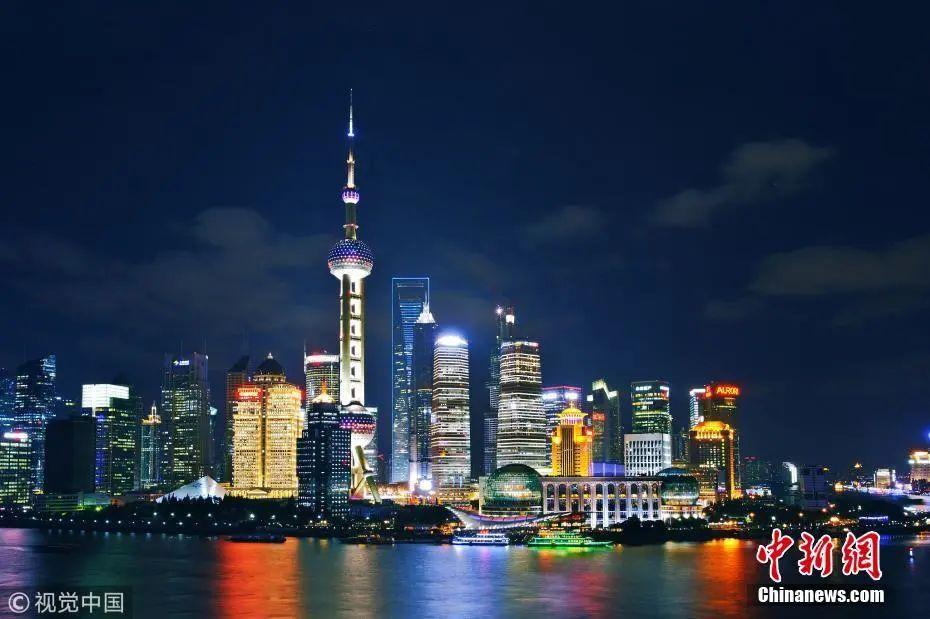 资料图:上海东方明珠广播电视塔。图片来源:视觉中国