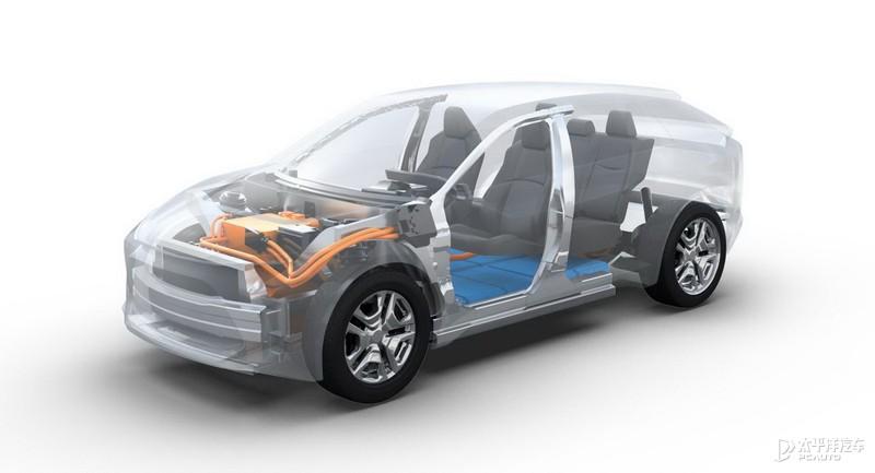 丰田BZ4X姊妹车 斯巴鲁首款纯电SUV SOLTERRA预告