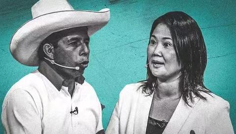 秘鲁两位总统候选人支持率差距继续缩小